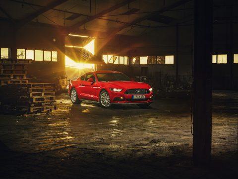 Ford Mustang Fotografía profesional